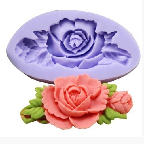 Yosoo Rose Flower Silicone Cake Mold Fondant Chocolate Decorating Baking Mould DIY ** Be sure to check out this awesome product.