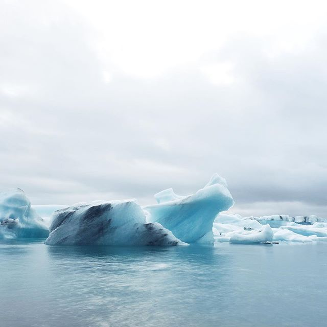 Ice in Iceland!  /