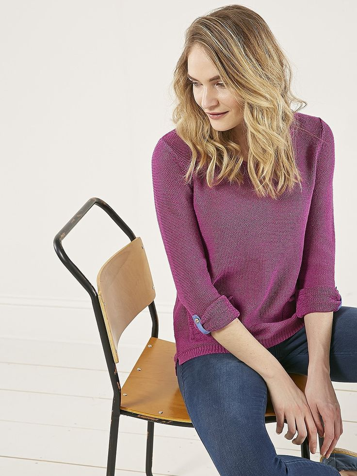 Womens amethyst varnie jumper from White Stuff - £45 at ClothingByColour.com