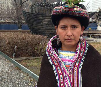LOS DESAFIOS MUNDIALES: (Global Challenges) La descrimincaion indigena. Joven indígena quechua habla sobre la discriminación a esos pueblos