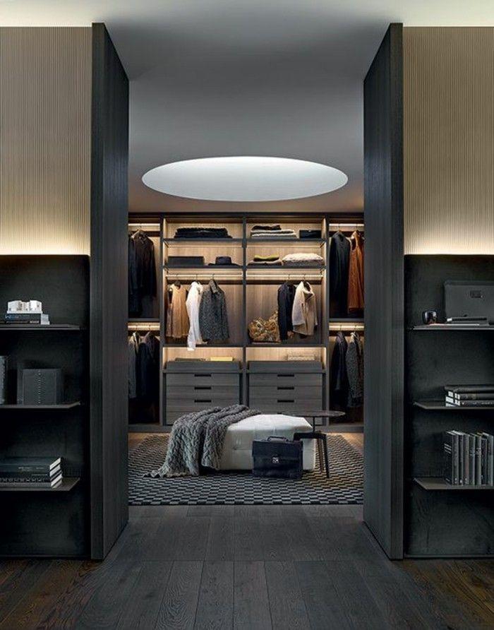 1001 Ideen Fur Offener Kleiderschrank Tolle Wohnideen Begehbarer Kleiderschrank Luxus Wohnung Ankleidezimmer Design