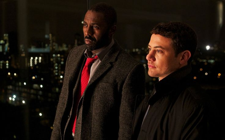 """Idris Elba & Warren Brown of """"Luther"""": double awesome."""