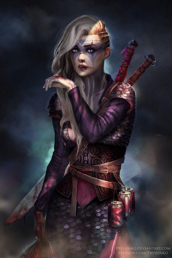 Heilagr by Prywinko.deviantart.com on @DeviantArt - More at https://pinterest.com/supergirlsart #female #fantasy #art