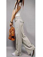 pantaloni gamba larga delle donne – EUR € 22.79