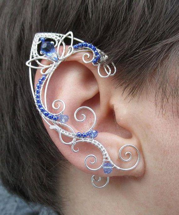 Resultado de imagem para como fazer orelhas de elfo com arame