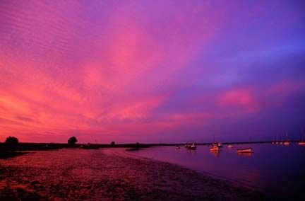 Sunset at Orford * Suffolk