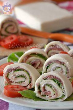 Girelle salate di pancarrè - una blogger in cucina