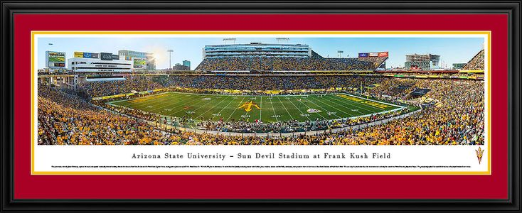 This Arizona State Sun Devils Panoramic Picture - Sun Devil Stadium Picture  was taken by Blakeway Worldwide Panoramas and is available in many different formats!