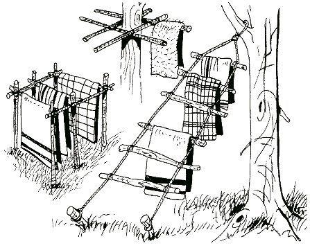 construcciones. para campo. o  supervivencia.  de alguna manera el día llega en donde  las nesecitaremos...