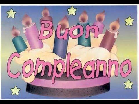 Happy Birthday (Italian Version) - YouTube
