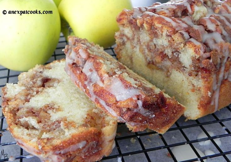 This bread is insanely moist and chock full of spiced apples!