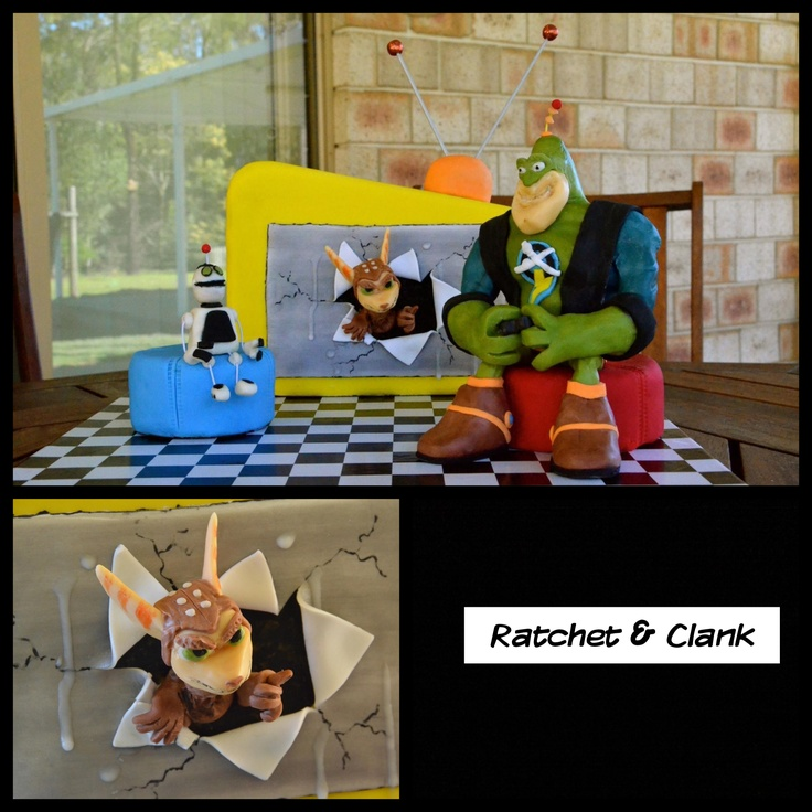 """Ratchet & Clank """"A Crack in Time"""""""