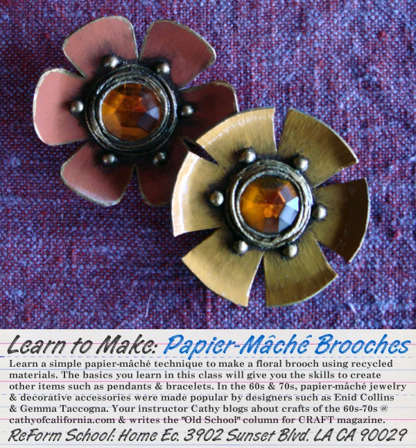 Enid Collins Brooches: Collins Brooches, Creative Jewelery Crafts, 1960S Crafty, Art, Paper Mache, Clever Crafts, Gorgeous Papier Mache, Paper Crafts
