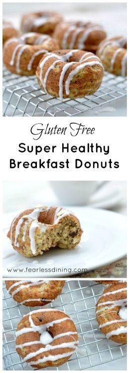 Gluten Free Healthy Breakfast Donuts
