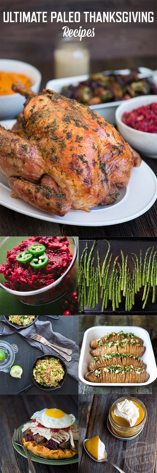 Ultimate Paleo Thanksgiving Recipes | stupideasypaleo.com