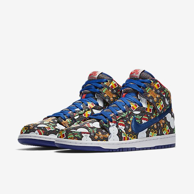 76a4a70183 Chaussure de skateboard Nike SB Dunk High Pro « Ugly Sweater » pour Homme