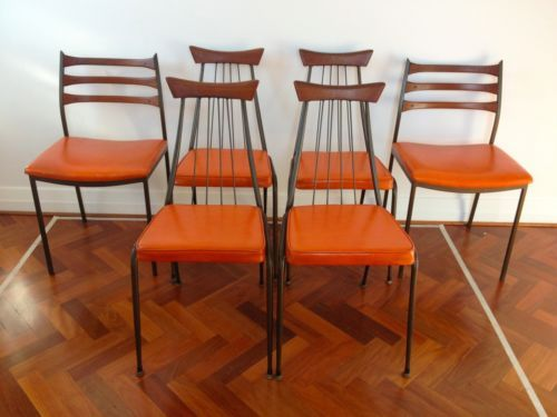 Set of 6 Framac 60s Dining Chairs