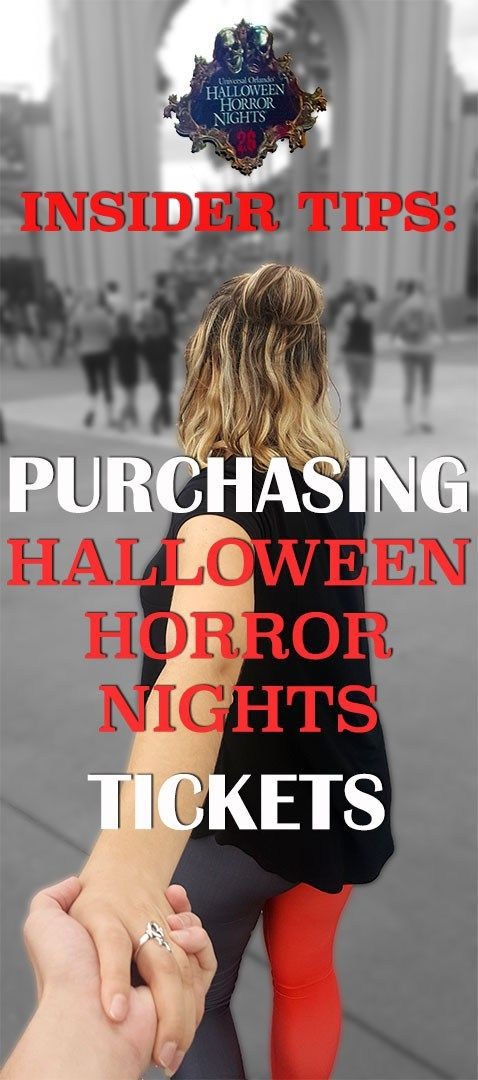 how to purchase halloween horror nights tickets - Price Of Halloween Horror Nights