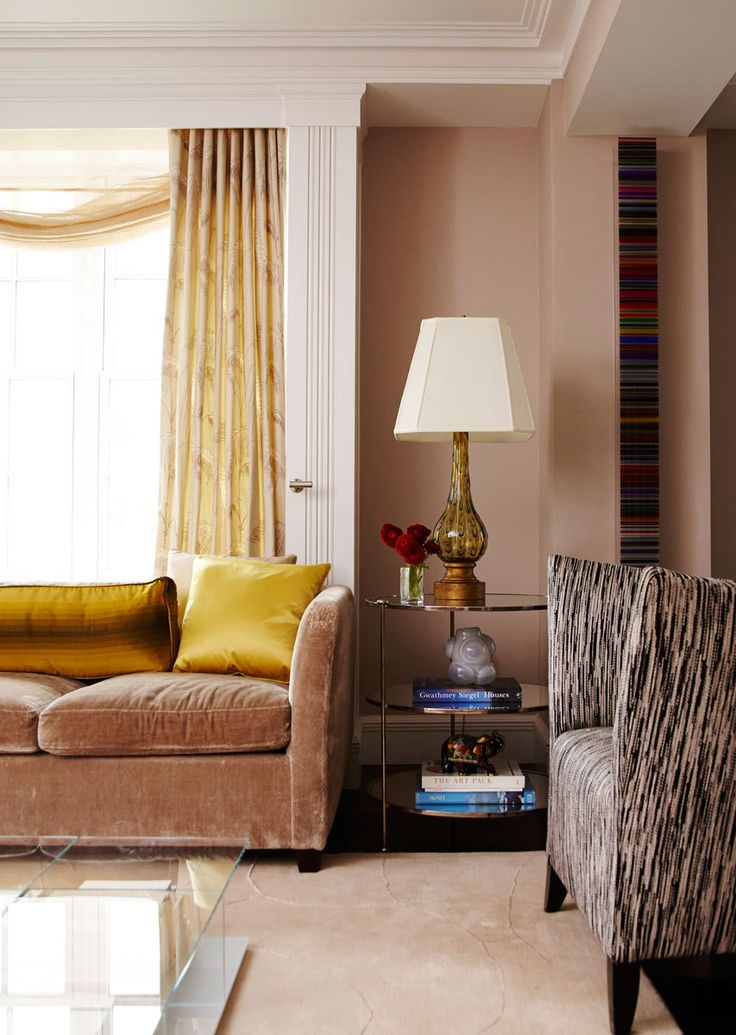 A sophisticated new york city apartment paint colors Sophisticated paint colors for living room