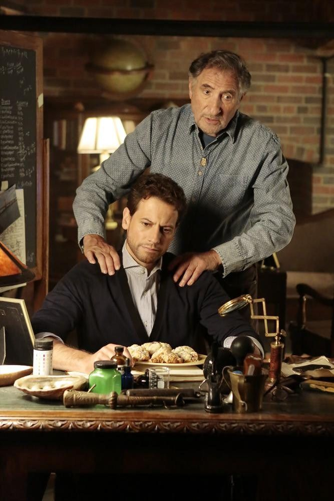 Henry and Abe. Young father, and old son. Yet, Henry is still so loving and protective of his boy! </3