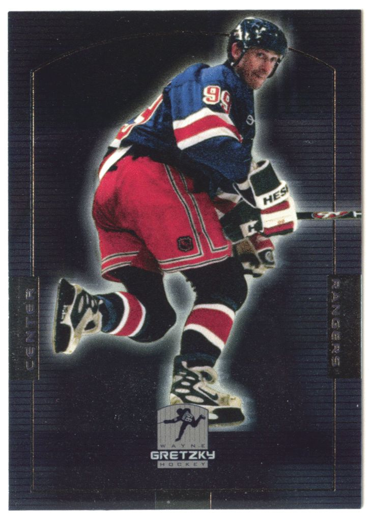 Wayne Gretzky # HOF 29 - 1999-00 Upper Deck Wayne Gretzky Hockey Hall of Fame Career