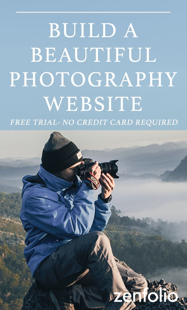 Build a photography site today with Zenfolio: The all-in-one solution for elegant custom websites, built just for photographers. Grow your business and your portfolio. Free to try today!
