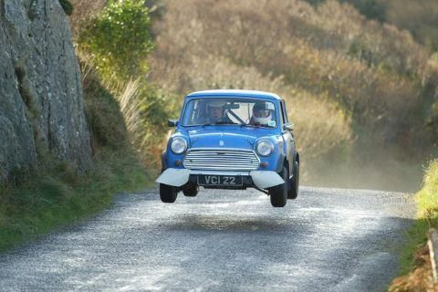 Rally Car Mini Cooper >> Airborne mini cooper | Mini's | Pinterest | Rally and Cars