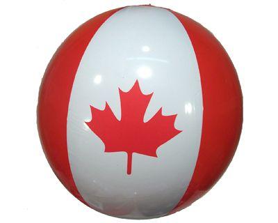 """Canada Print Beach Ball 38"""""""