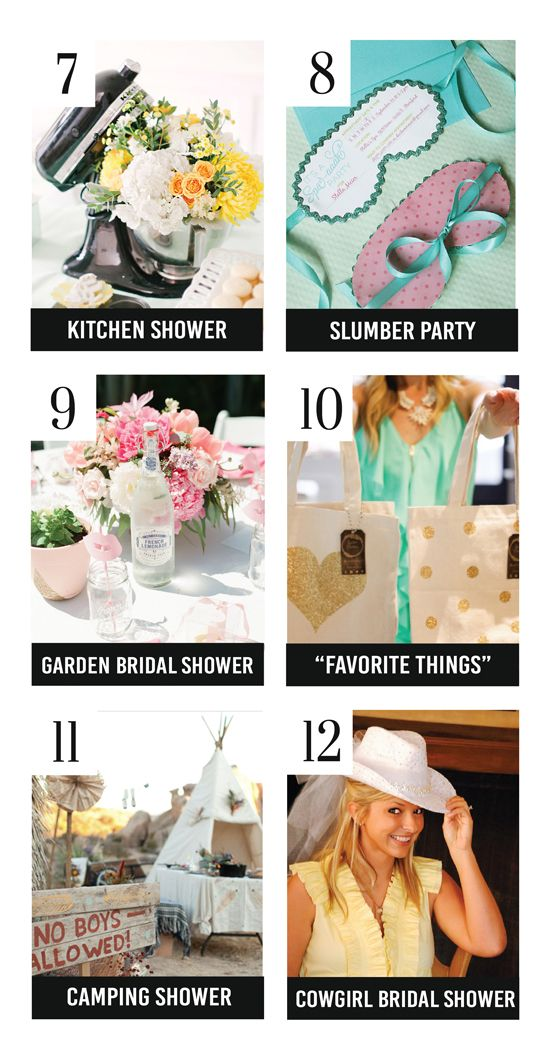 Adorable Bridal Shower Themes and Ideas