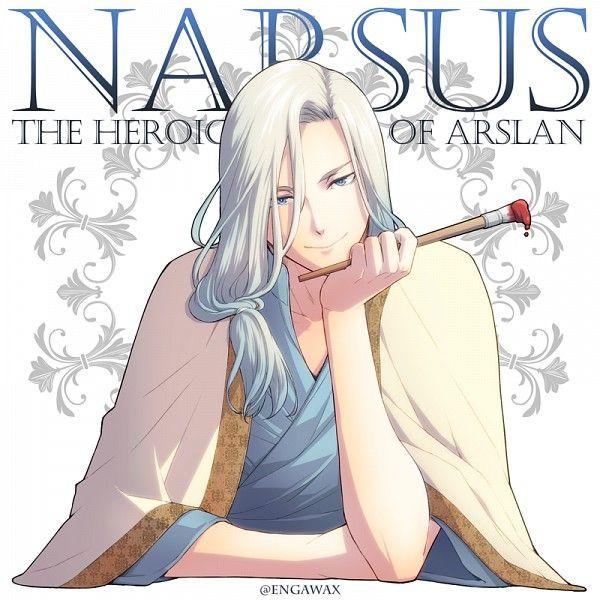 Arslan Senki - Narsus the Tactician and (future) Court Painter