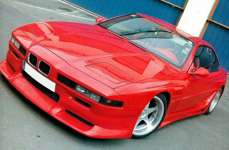 BMW 850 with custom body kit | BMW 8 series | Pinterest ...