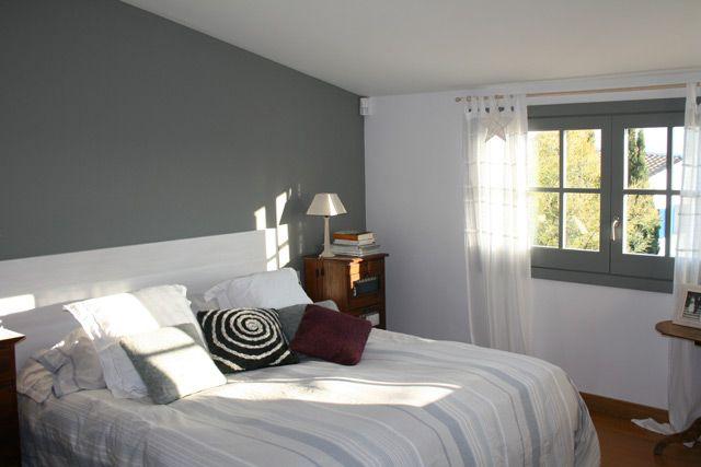 Dormitorio en blanco y gris juvenil buscar con google for Cuarto gris con blanco