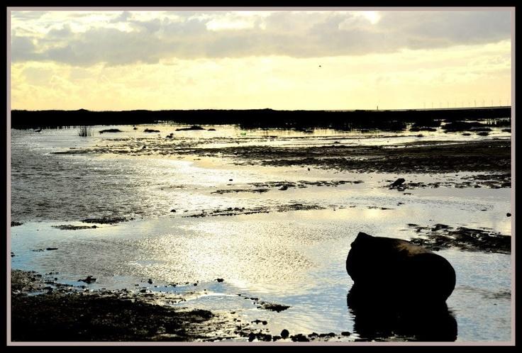 Sunset @ Presthaven Sands, Wales