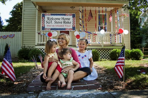 Welcome Home Yard Decorations Deployment Pinterest Front Yards Yard Decorations And Home