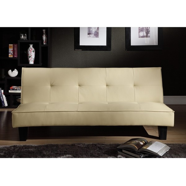 INSPIRE Q Bento Mini Futon Sofa Bed By INSPIRE Q Leather Products And Leat