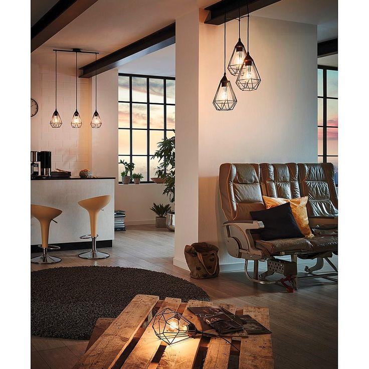 Eglo Tarbes Tafellamp - Zwart