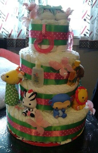 Diaper Cake by Jamie