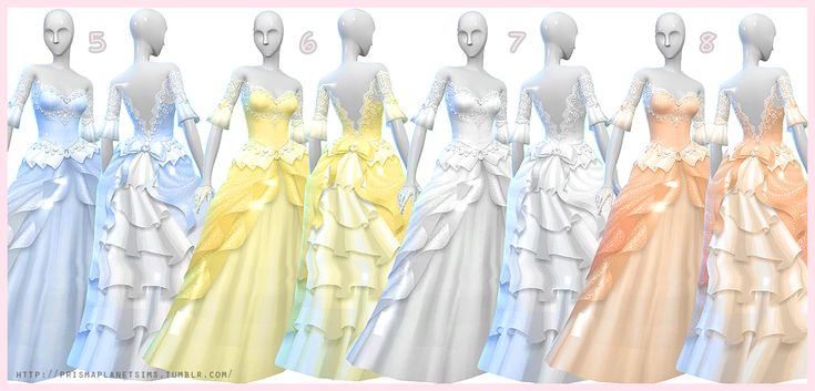 My Sims 4 Blog: Prisma's Wedding Dress + Gloves
