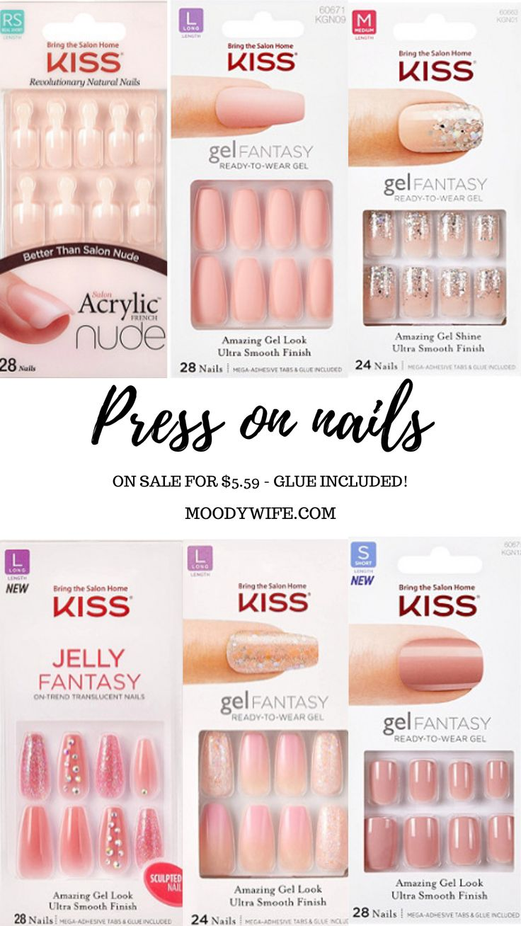 PRESS ON NAILS in 2020 Glue on nails