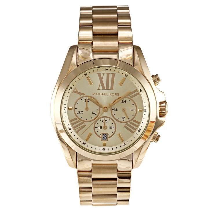 Michael Kors Women's Bradshaw Watch | Overstock.com $199