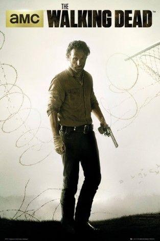 The Walking Dead / Żywe Trupy sezon 4 Fence - plakat - 61x91,5 cm  Gdzie kupić? www.eplakaty.pl