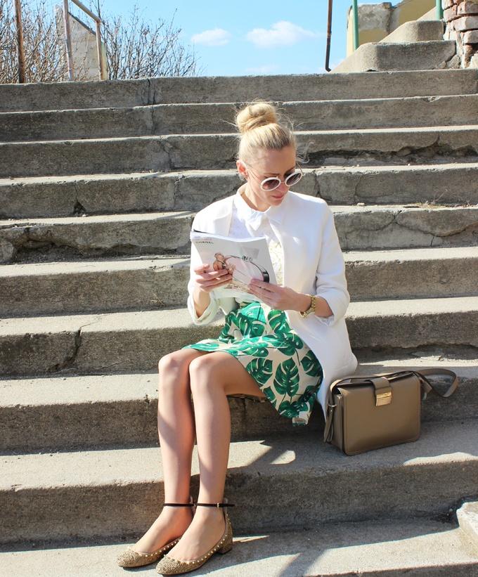 Fashion Spot, Ioana and her Meli Melo leather bag