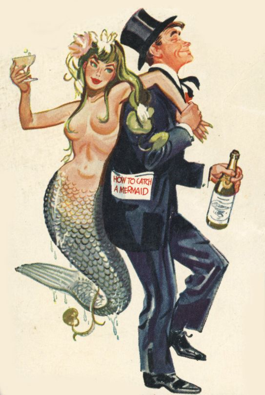 How to catch a mermaid.                                                                                                                                                                                 More