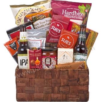 Guy Time : Gift baskets for Father's day Vancouver