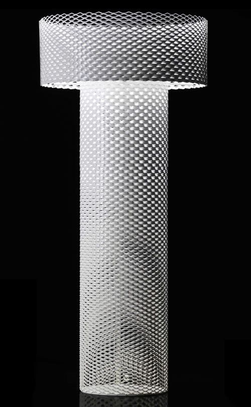 CAPPELLINI Lace Metal Lamp By Form Us With Love