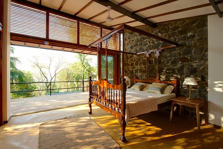 Eco Friendly Country Home I Aldona Goa Master Bedroom Property