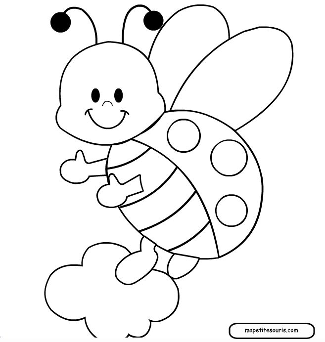 Pin Ladybug Printable Coloring Pages Free Download Tattoo 34766 On