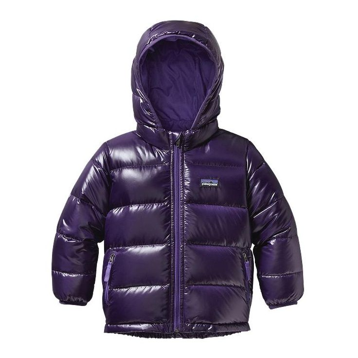 It's hers!  I love it so much!  Patagonia Baby Hi-Loft Down Sweater Hoody - Tempest Purple TMPL