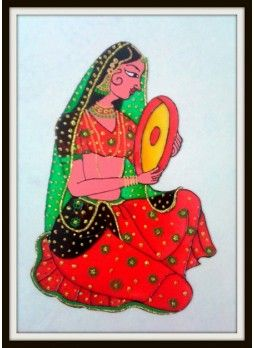Rajasthani Glass Painting