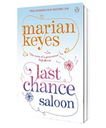 Last Chance Saloon by Marian Keyes | Dec 2012  Tara, Katherine, and Fintan have been best friends since the days when legwarmers were cool. Tara is struggling daily with her eternal diet and her dreadful boyfriend, Katherine is keeping her single existence as ordered as her drawer full of matching bra and panty sets.  When catastrophe inevitably follows crisis, the lives of three best friends are sure to change in unexpected ways...and not necessarily for the worse.